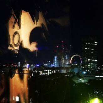 Releflections from the OXO tower rooftop